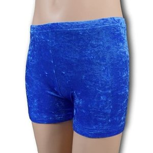 Turnbroekje kobalt blauw